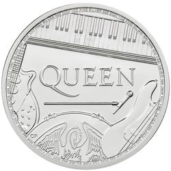 2020 Great Britain 1 oz Silver Music Legends Queen