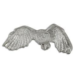 2020 Great Horned Owl Solomon Islands 1oz Silver