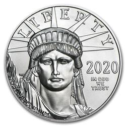 2020 Platinum American Eagle One Ounce