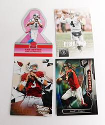 4 NFL Quarterback Football Cards