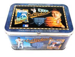 Cal Ripken, Jr. 10 Embossed Metal Cards w/Box