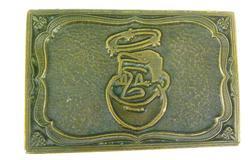 1974 Good Sam Cartoon Belt Buckle