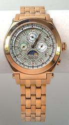 Gorgeous Invicta Model 4824 Rose-Tone Watch