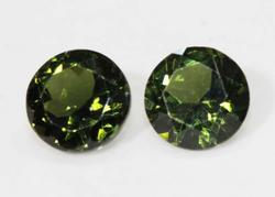 Handsome Natural Tourmaline Pair - 2.83 cts.