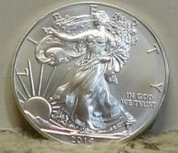 2014 Uncirculated Silver Eagle, one ounce Silver