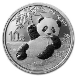 2020 Chinese Silver Panda 30 Gram