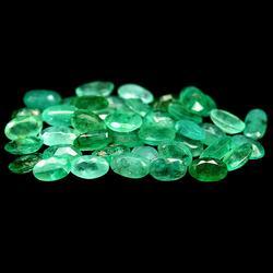 Large 7.99ct 42 piece Zambian Emerald set