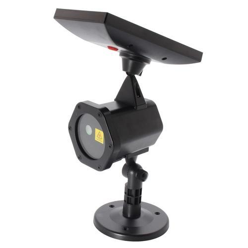 Waterproof Solar Power Laser Lights Projector