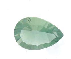 3.29ct Pear Green Flurite Loose Stone