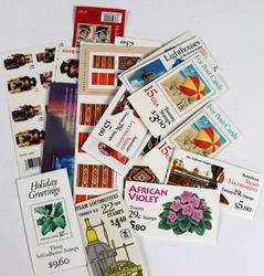 $120 Face Value+ In Mint US Stamp Booklets