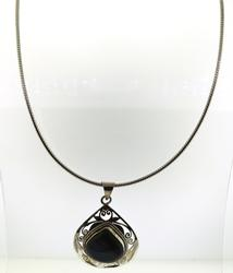 Amazing Sterling Silver Labadorite Necklace