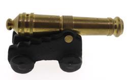 Vintage Die Cast Iron Toy Cannon