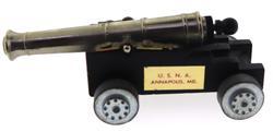 Vintage U.S.N.A Annapolis MD Miniature Cannon