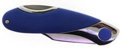 Pocket Knife with Blue Handle