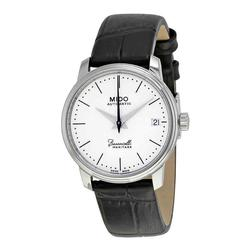 New Womens Mido Swiss Automatic w Black Leather