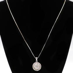 Dainty Sterling Silver Pendant Necklace