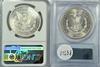 Near Gem BU 1880-S & 81-S Morgan Dollars. NGC & PCGS 64