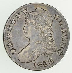 1826 Capped Bust Half Dollar - Sharp