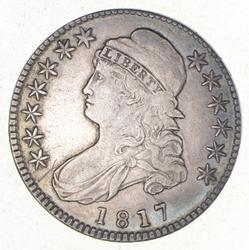 1817 Capped Bust Half Dollar - O-109