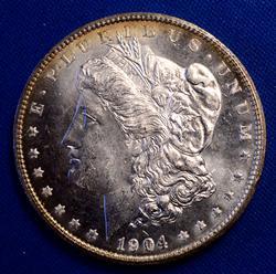 Flashy Proof Like 1904-O Morgan Silver Dollar