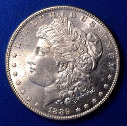 1889 UNC Morgan Dollar