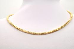 10 KT SOLID GOLD ROLO CHAIN