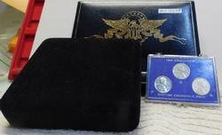 2003 State Qtrs & Gold Plate Pred Dols & Steel Cents