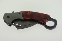 Wild Turkey Handmade Karambit Spring Assist Knife