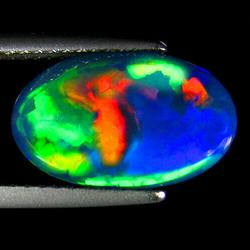 Phenomenal 3.17ct Black Jelly Opal