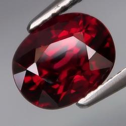 Stunning 2.16ct untreated cherry red Garnet