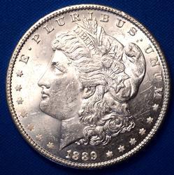 1889 B.U. MORGAN SILVER DOLLAR