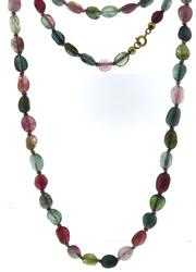 Tourmaline Multi Color Necklace