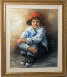Very Collectible Original Oil by Lisette De Winne