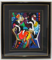 Isaac Maimon Original Serigraph Signed by the artist