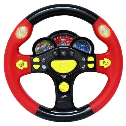 Simulation Steering Wheel with Light Copilots Toy
