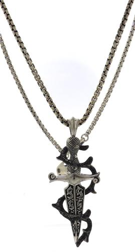 Stephen Webster Heartbreaker Dagger Pendant on Chain