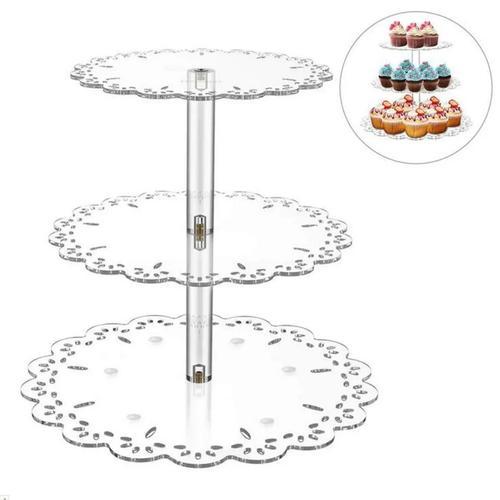 3 Tier Acrylic Cake Stand