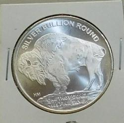 2016 Buffalo/Indian 1 oz Silver Round, Uncirculated
