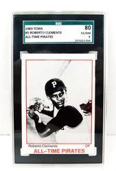 Roberto Clemente Graded Baseball Card
