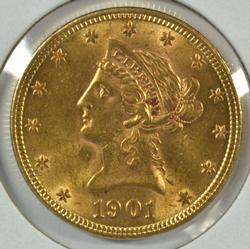 Super Choice BU 1901 US $10 Liberty Gold Piece