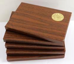 5 Ultra Gem BU 1971 S Brown Box Ike Dollars