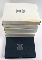 Great Britain  7 Assorted Proof Sets 1984-91