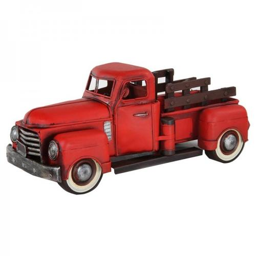1950 Red GMC Pickup Series FC101 Collectible Artwork