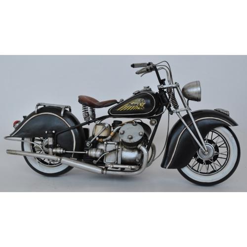 1944 Harley Davidson Motor Bike Figurine