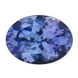 Gorgeous 1.03ct VVS blue violet Tanzanite