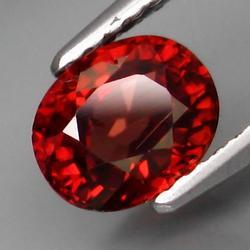 Top color rare 1.69ct red Zircon