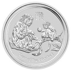 2016 Australia 1 oz Silver Lunar Monkey