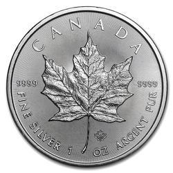 2020 Silver Maple Leaf 1 oz Uncirculated