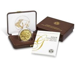 Proof Buffalo Gold Coin One Ounce 2020-W