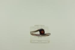 Vintage Sterling Silver Gem Stone Ring